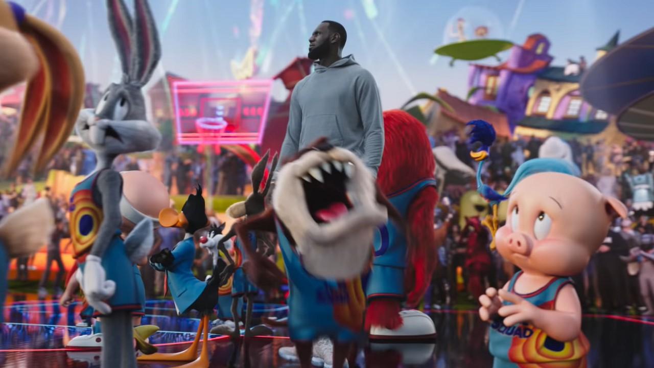 Space Jame 2 Película Tráiler Looney Tunes LeBron James