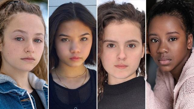 Paper Girls Serie Amazon Protagonistas