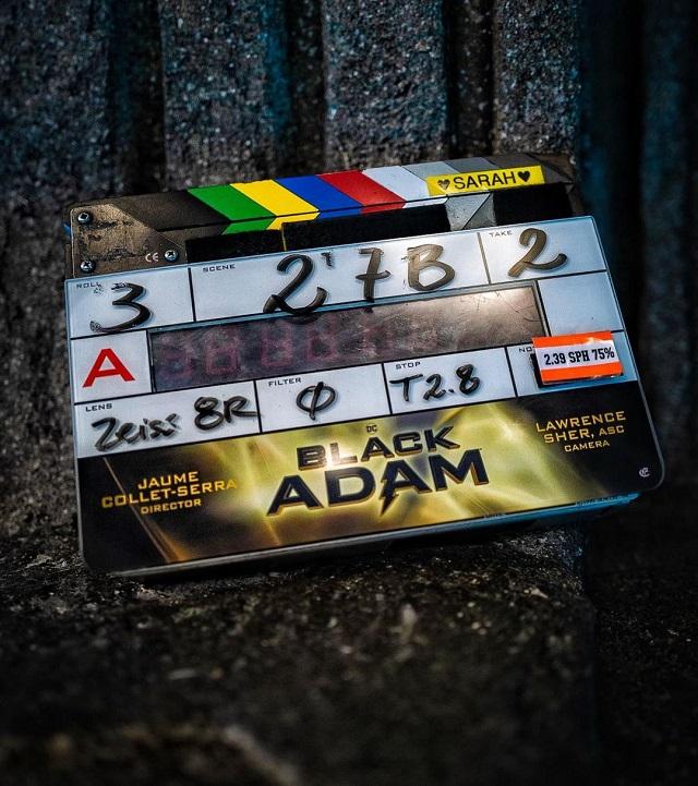 Black Adam DC Comics Película Dwayne Johnson