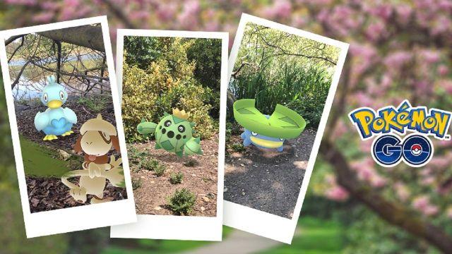 Pokémon Go Evento Espacial Lanzamiento Pokémon Snap