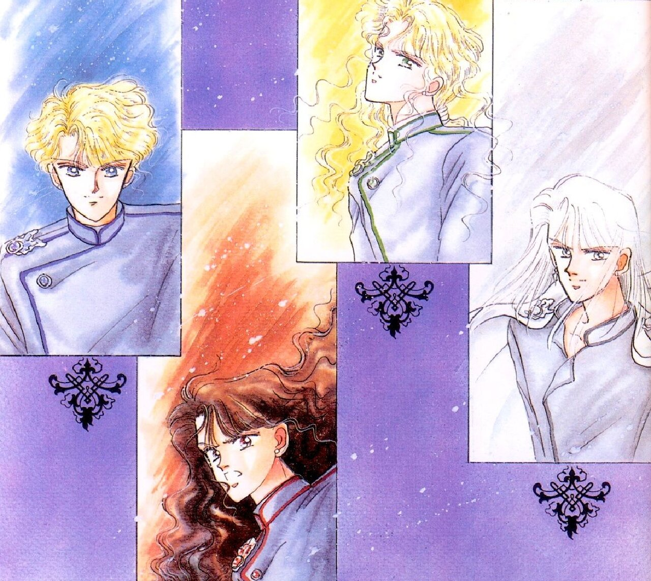 sailor moon guardianes celestialees manga