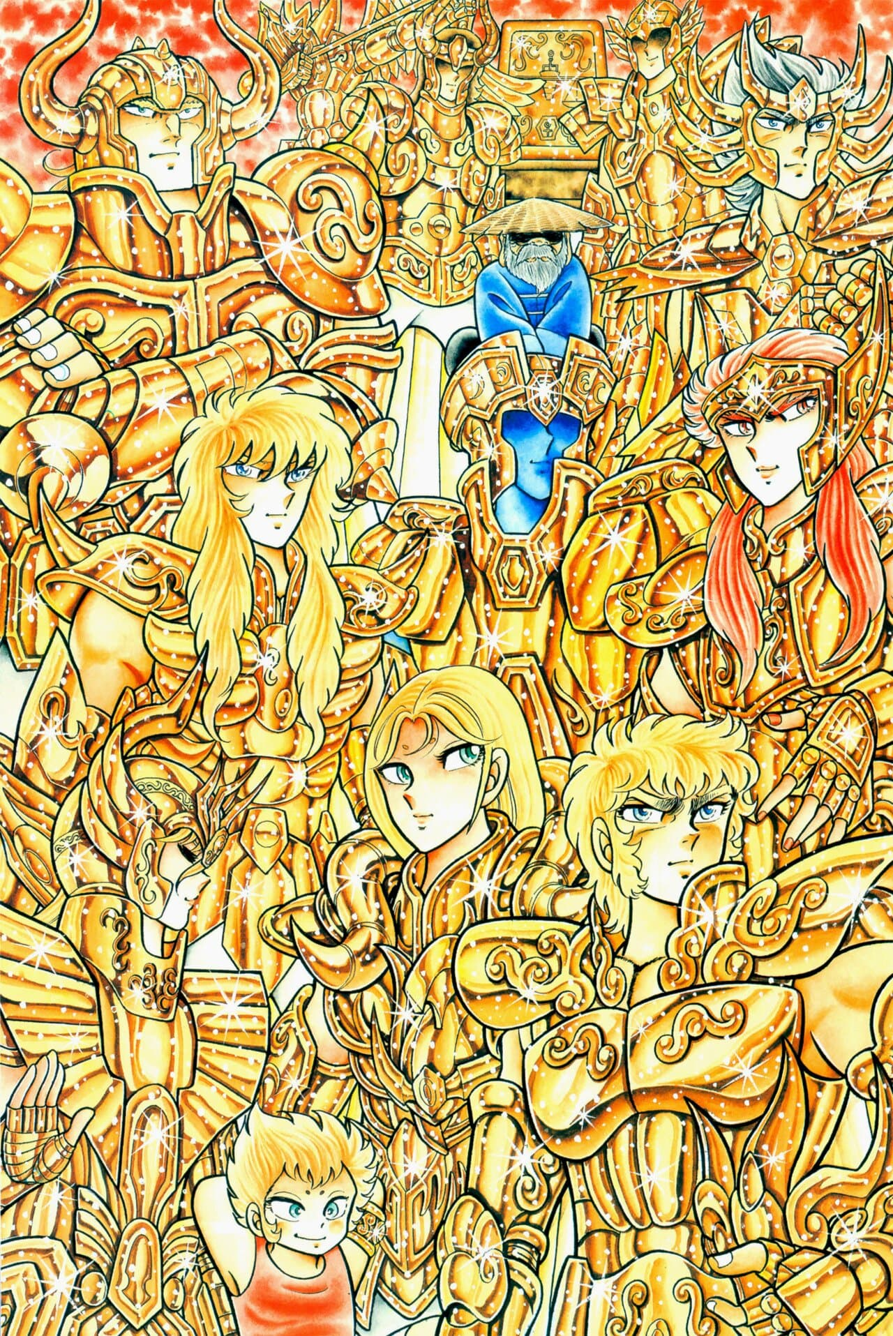 masami kurumada saint seiya manga