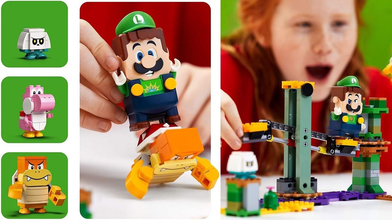 Lego Mario Bros. Set de Lego Super Mario Adventures with Mario Starter Course Luigi