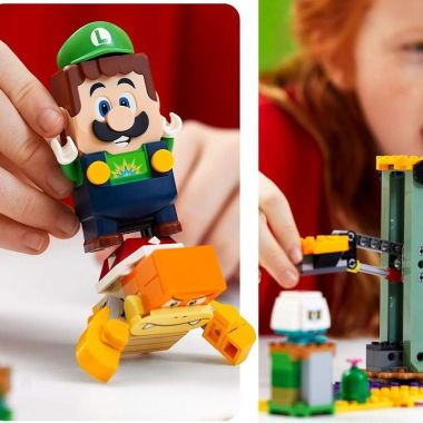 Lego Mario Bros. Set de Lego Super Mario Adventures with Mario Starter Course Luigi
