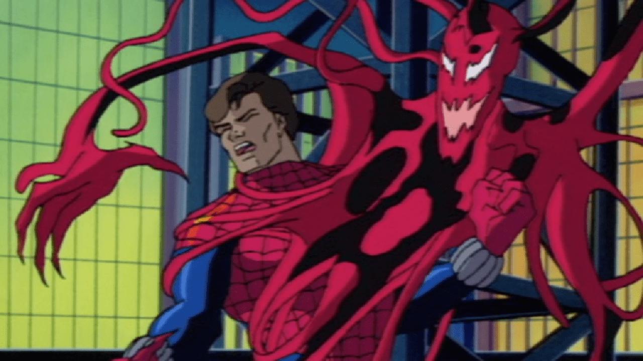 carnage spider-man serie animada noventas