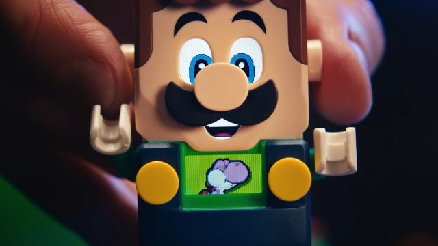 Lego Mario Bros. Set Interactivo de Luigi de Lego