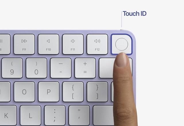 Nuevo Teclado Apple iMac Colores Touch ID