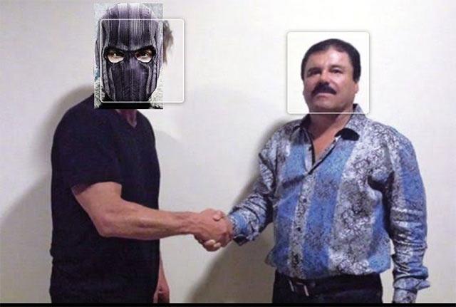Joaquín El Chapo Guzmán Zemo The Falcon and the Winter Soldier Marvel easter egg