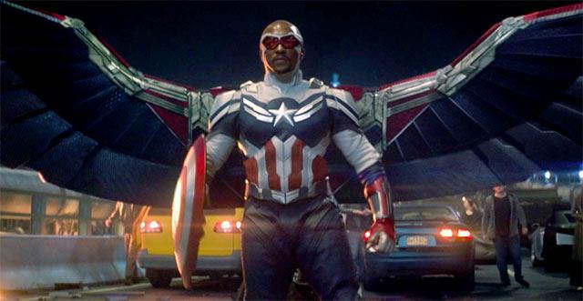 The Falcon and the Winter Soldier Sam Wilson Capitán América nuevo traje