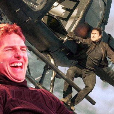 Misión Imposible Películas Tom Cruise Escenas de Acción