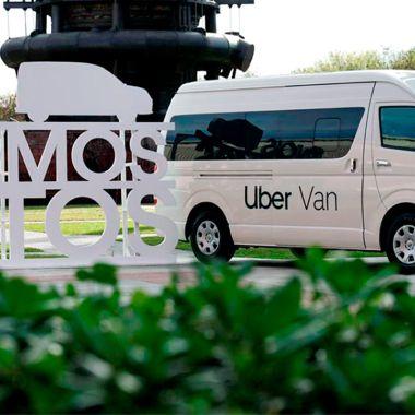 Uber van para empresas en México