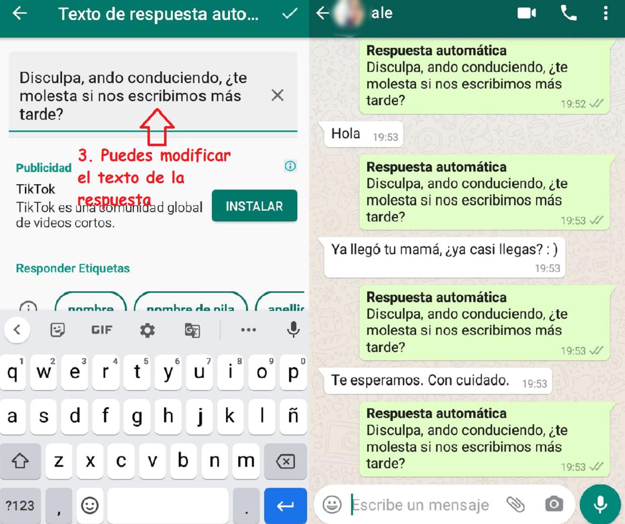 intructivo responder mensajes automáticamente whatsapp