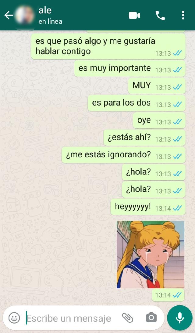 whatsapp ignorar chat mensaje visto