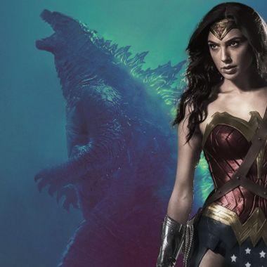 Wonder Woman Godzilla DC Comics Monsterverse Wonder Woman vs Godzilla