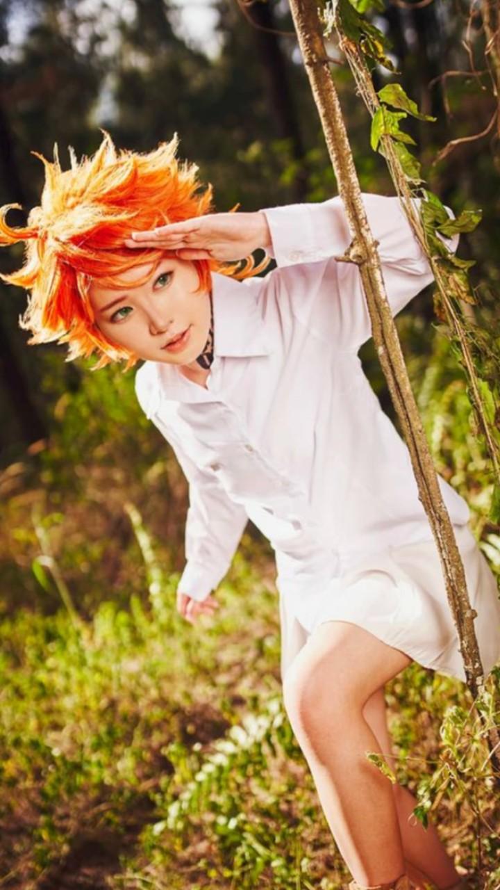 cosplay emma the promised neverland anime