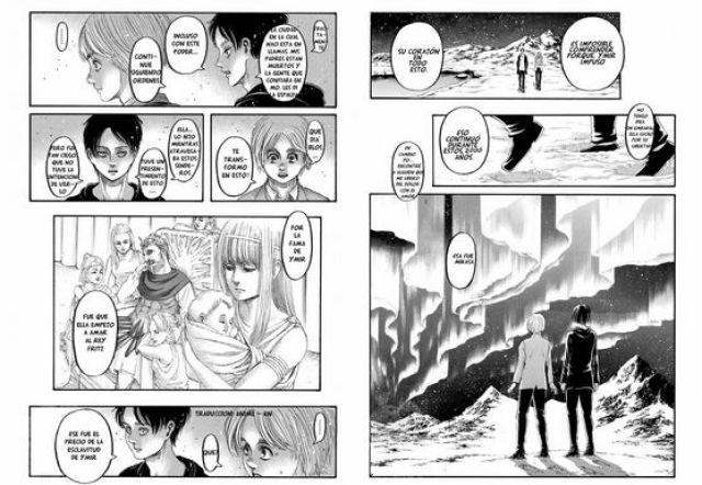 eren explica el origen del poder titan shingeki no kyojin