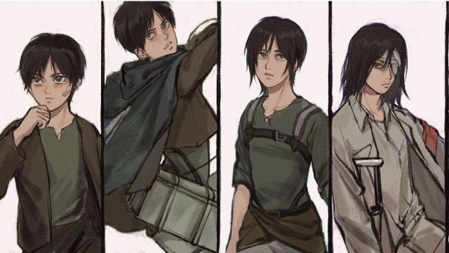 La evolucion de Eren Jaeger