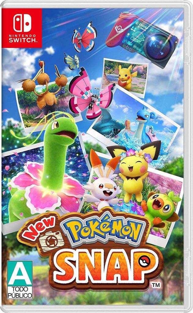 New Pokémon Snap Clasificación A Amazon