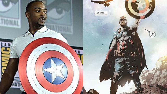 El Capitán América ahora es Sam Wilson