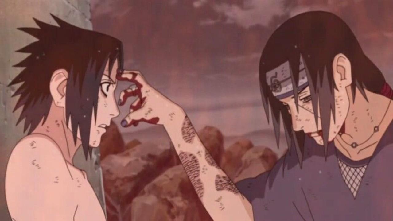 sasuke itachi uchiha muerte