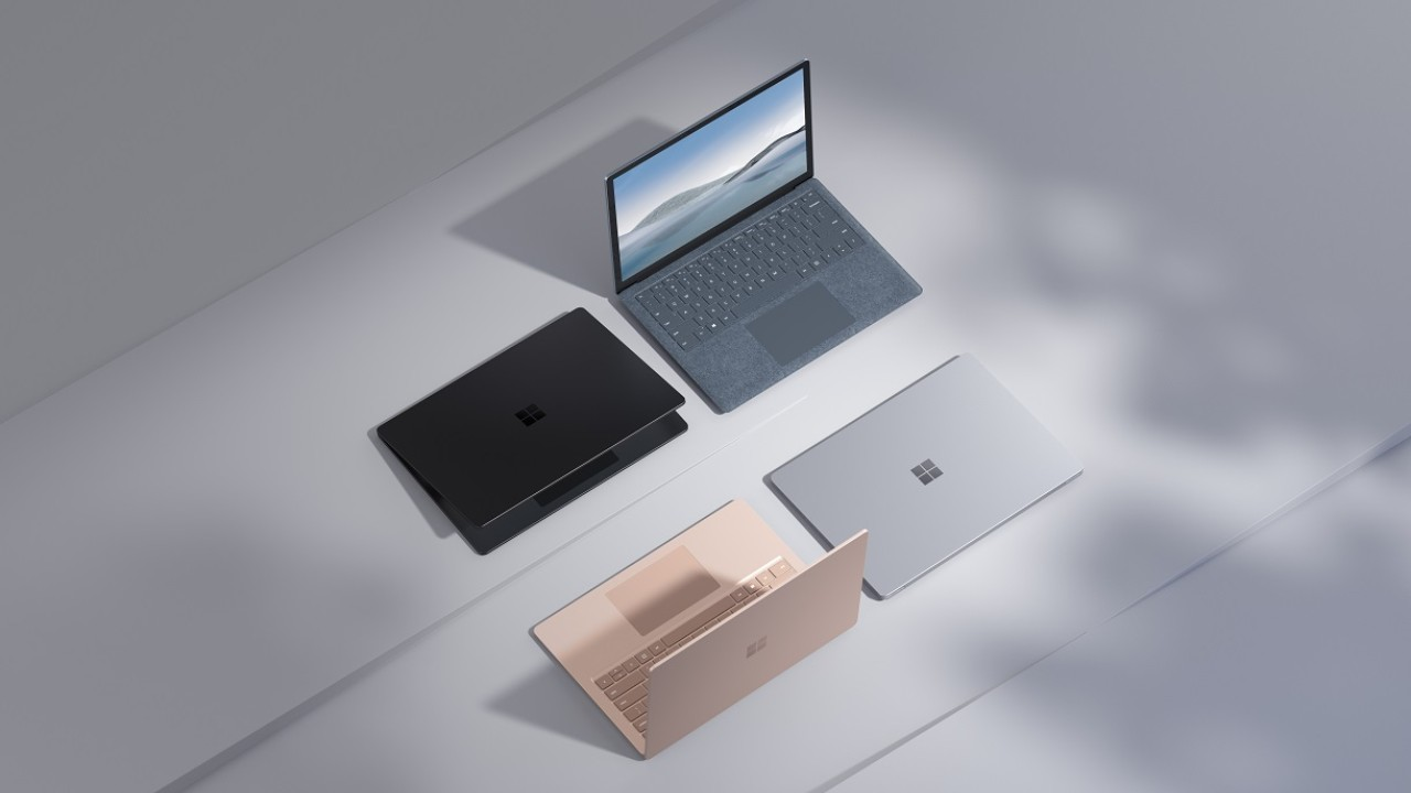 surface laptop 4 microsoft amd intel