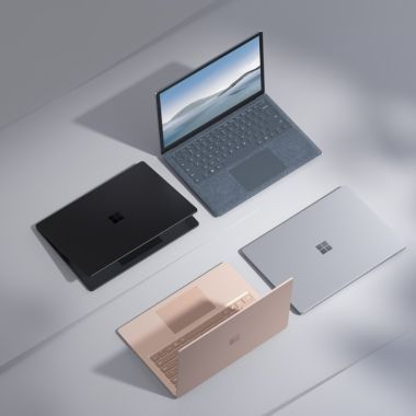 surface laptop 4 microsoft amd intel