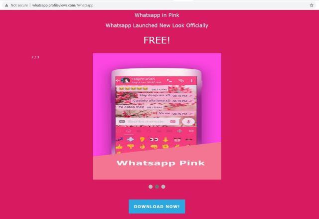 WhatsApp Pink es la nueva estafa de Whatsapp