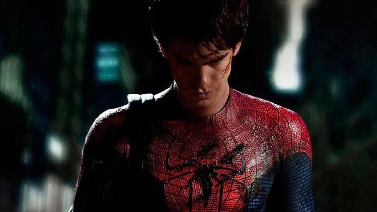 Marvel Spider-Man No Way Home Andrew Garfield Spider-verse