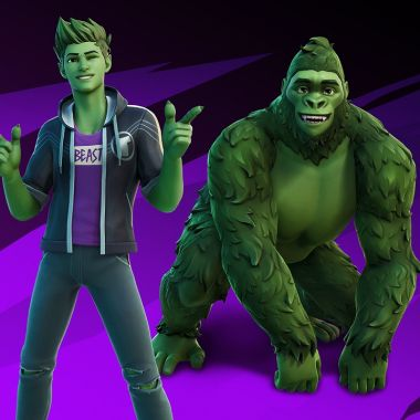 Fortnite Temporada 6 Capítulo 2 DC Comics Teen Titans Beast Boy