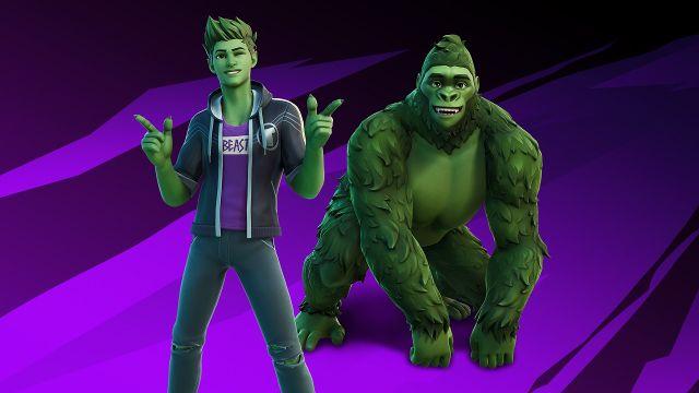 Fortnite Temporada 6 Capítulo 2 DC Comics Teen Titans Beast Boy