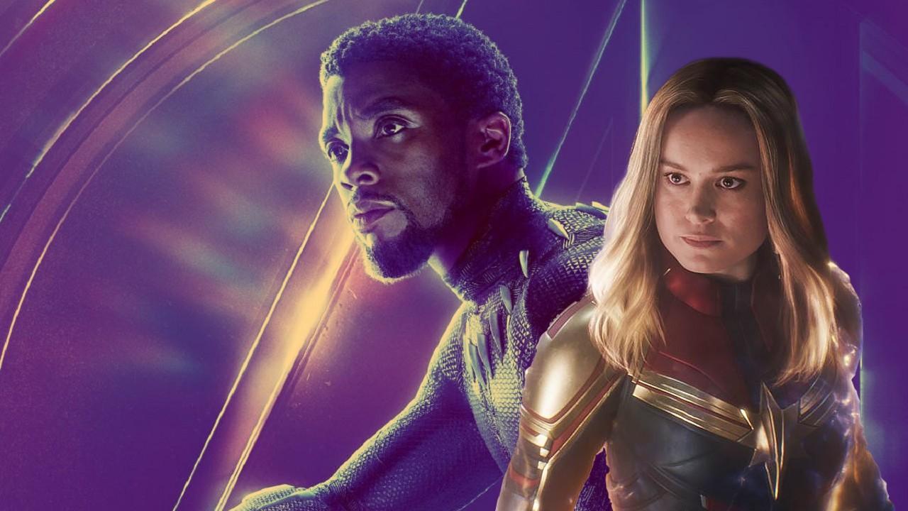 Marvel Películas Black Panther Captain Marvel