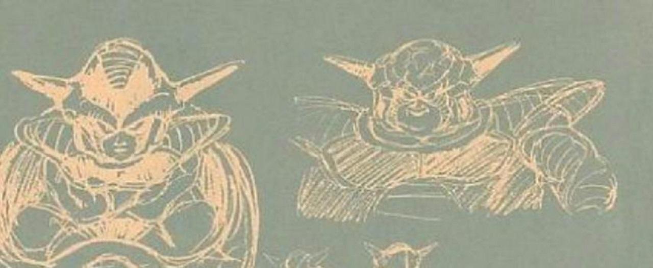 Freezer Dragon Ball Boceto Anime Akira Toriyama