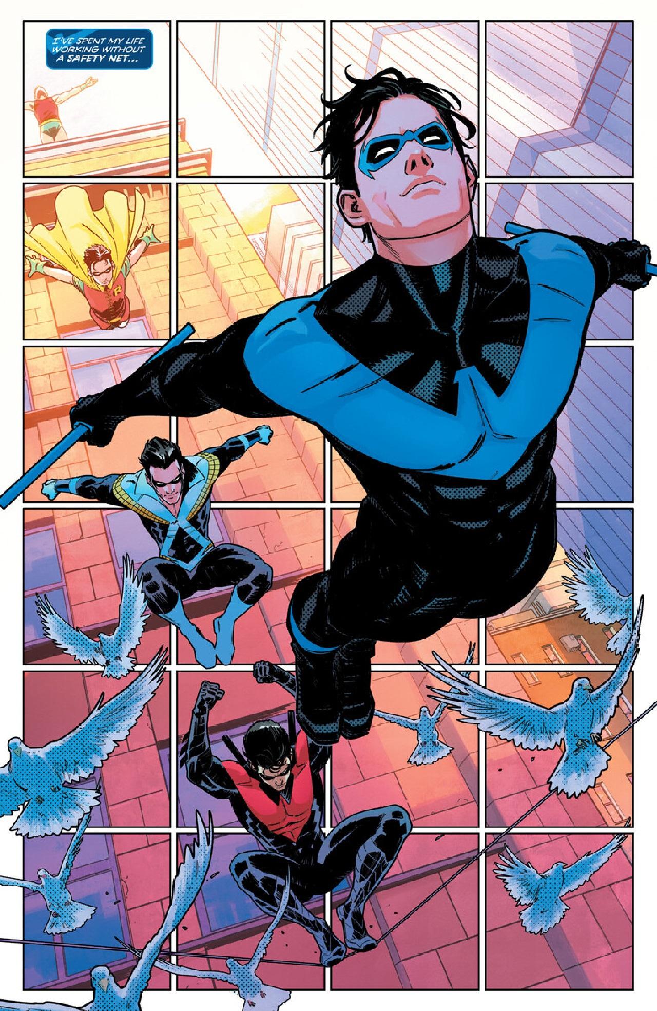 robin batman versiones dick grayson