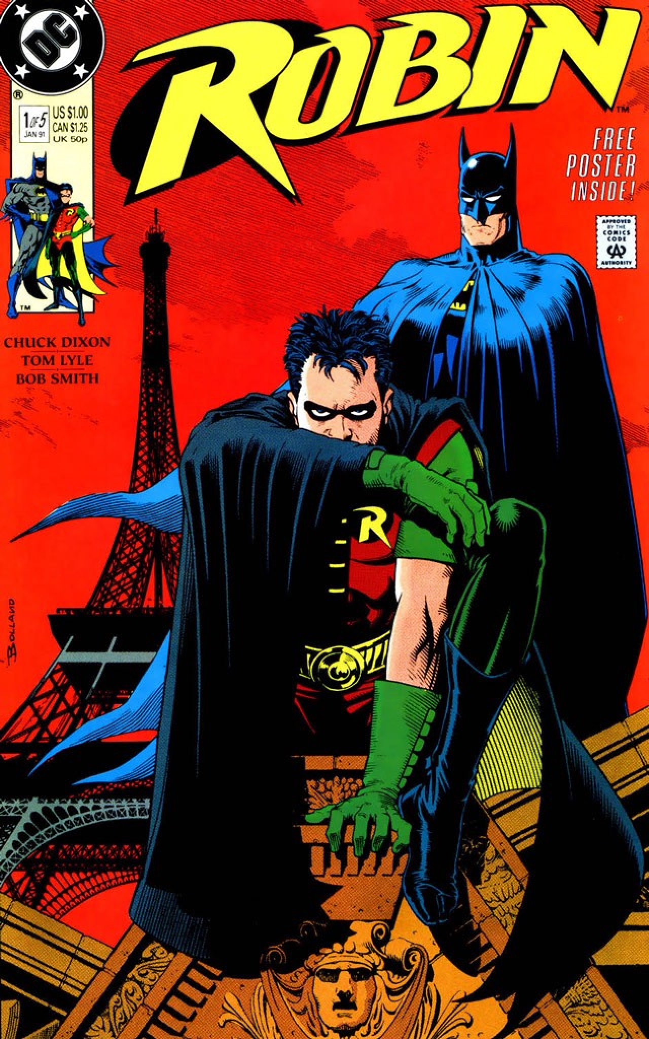 robin batman versiones tim drake