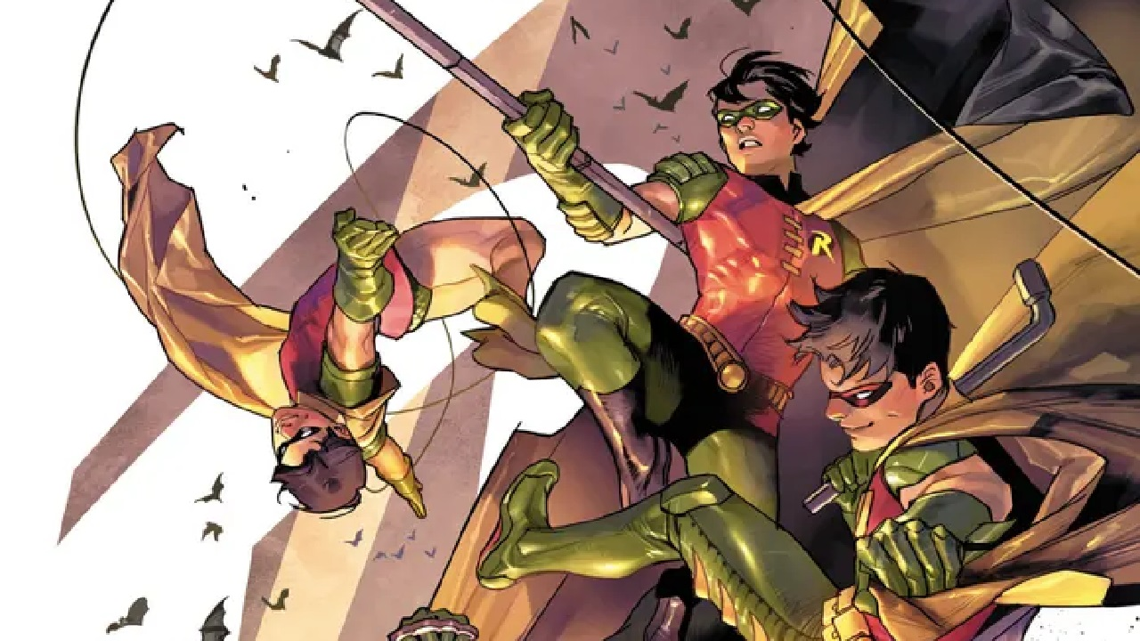 robin batman compañero chico maravilla versiones