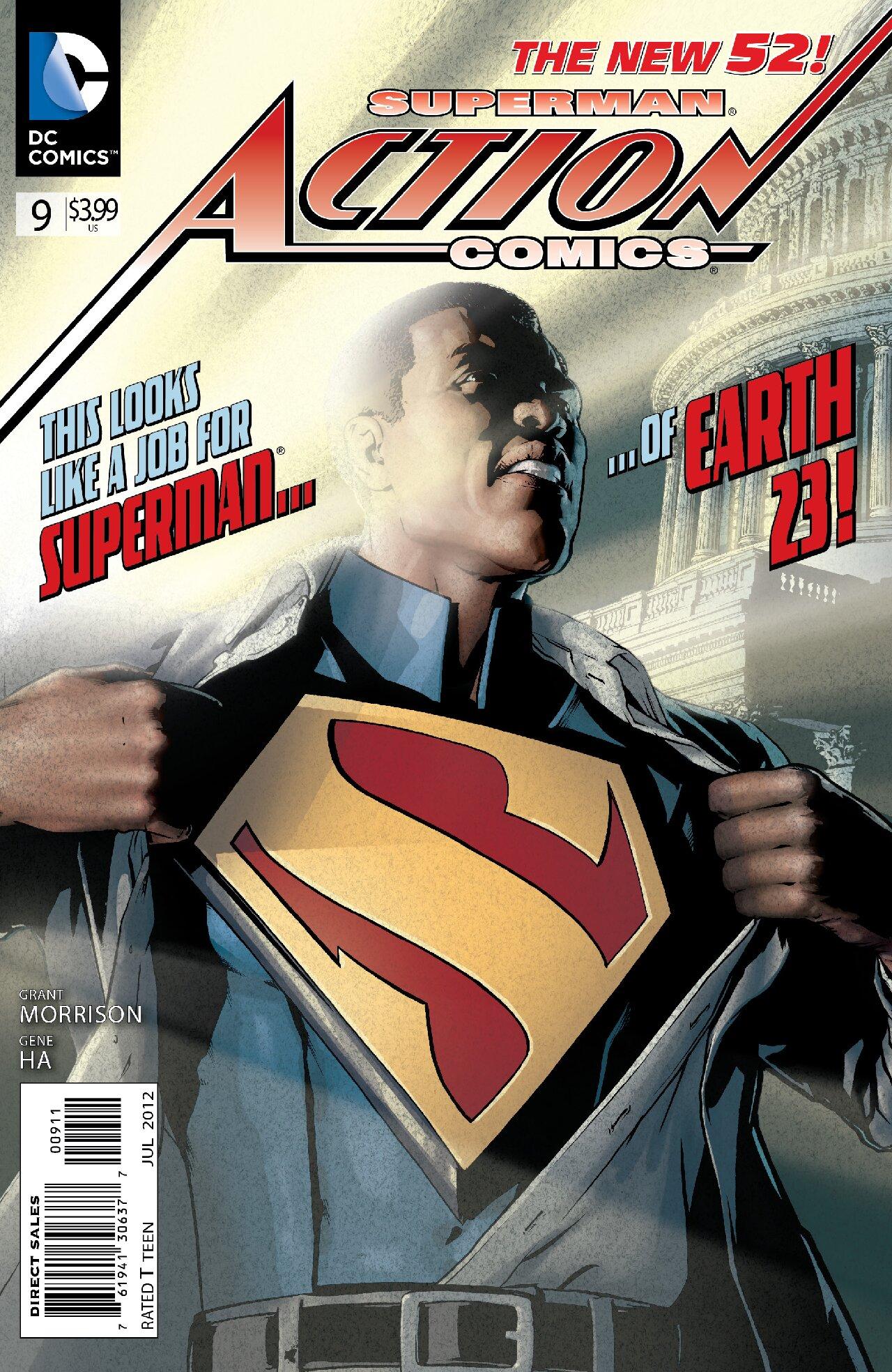 action comics calvin ellis aparición