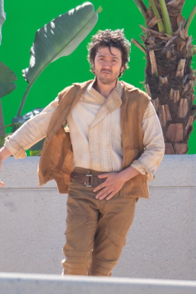Serie Cassian Andor Star Wars Diego Luna Grabaciones