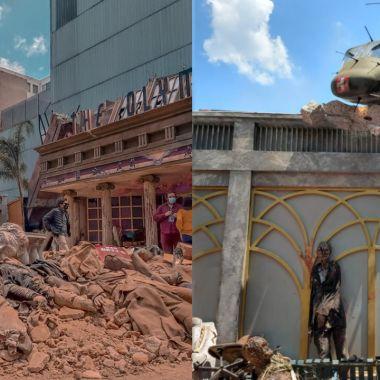 Asi es la locación inspirada en Army of the Dead en la Ciudad de México