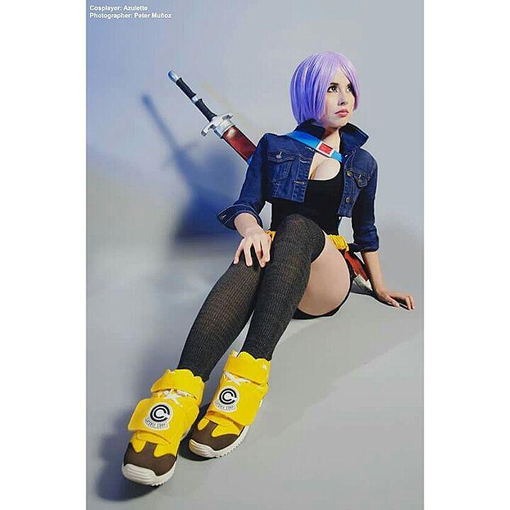 trunks futuro cosplay azulettecosplay dragon ball anime