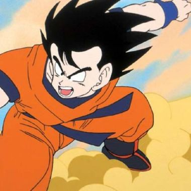 nube voladora goku anime dragon ball