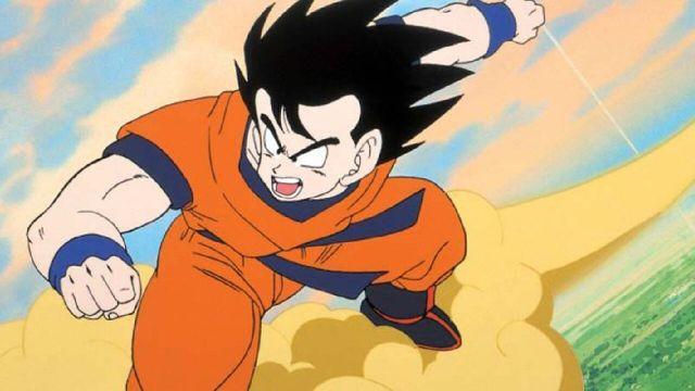 nube voladora goku anime dragon ball