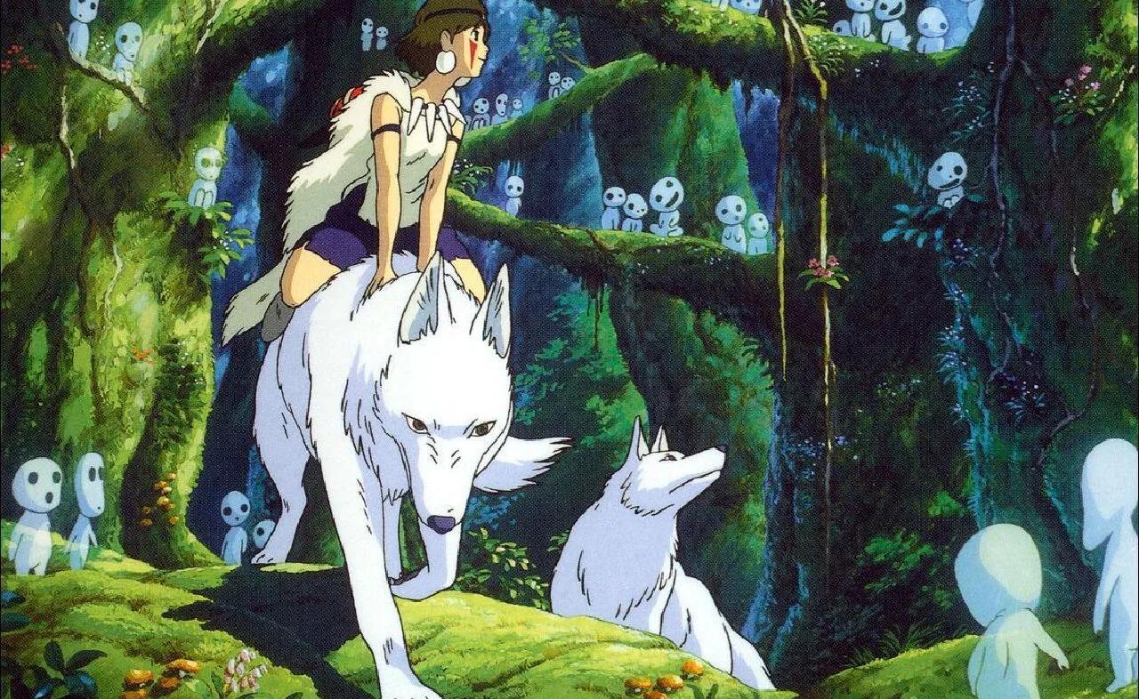 la princesa mononoke anime película