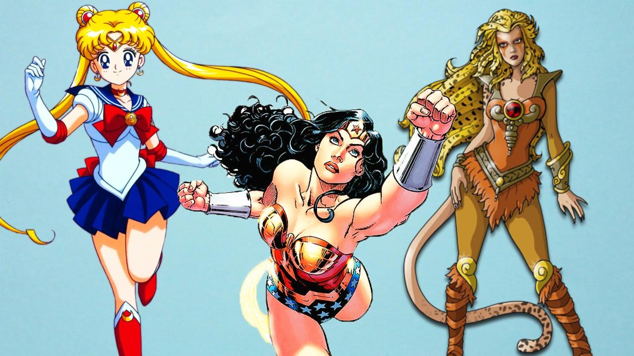 Fanart reúne a Sailor Moon, Wonder Woman y otras icónicas superheroínas