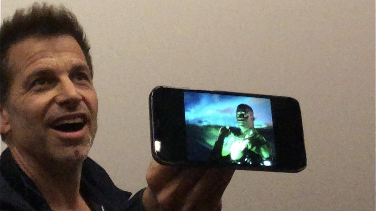 Zack Snyder Primera Imagen de Green Lantern Snyder Cut Justice League