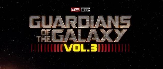 Guardians of the Galaxy 3 Marvel Logo Película Estreno