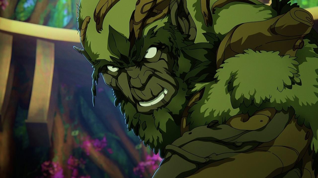 Moss Man Nueva Serie Animada Netflix He-Man