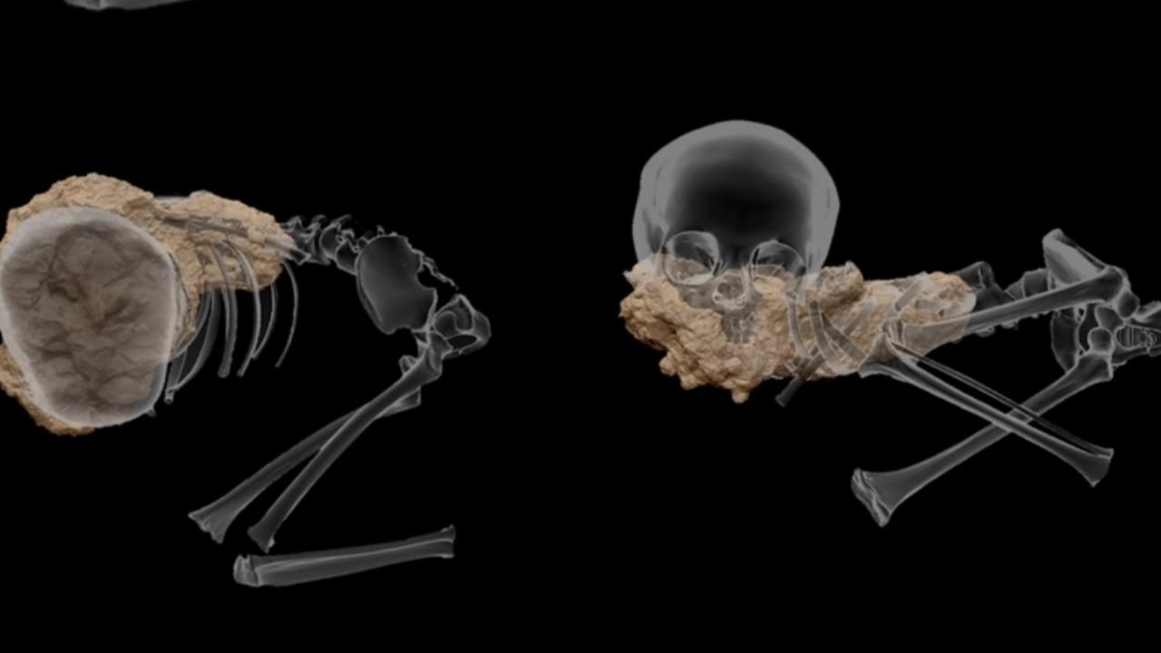 Investigadores han descubierto el entierro más antiguo de África, era un niño al que llamaron Mitoto