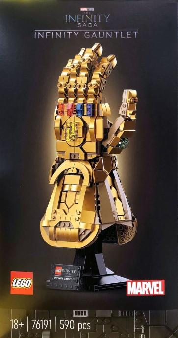 lego marvel infinity saga mcu gauntlet guantelete thanos