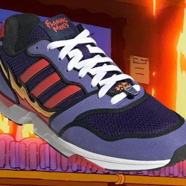 Tenis ZX 1000 Simpson Flaming Moe´s