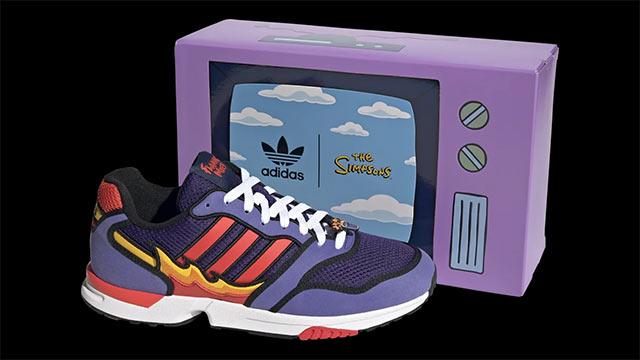 Adidas ZX 1000 Simpson Flaming Moe´s